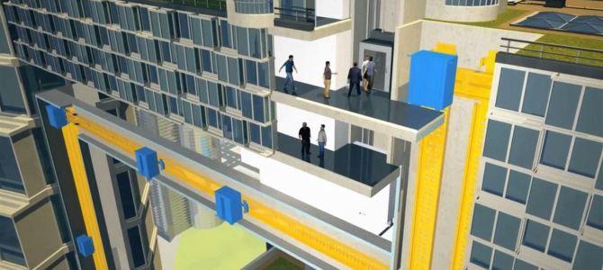 Немска компания създаде първият в Света maglev асансьор